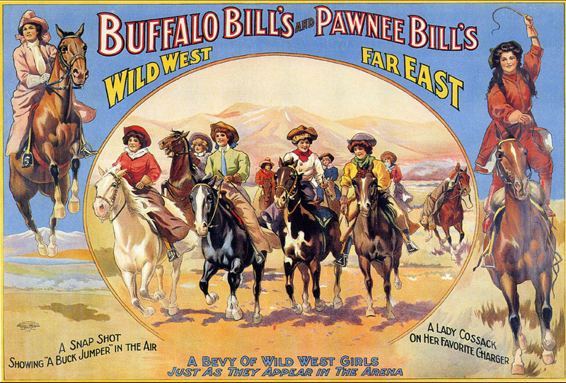 Buffalo Bill & Pawnee iPad Bags w/Fringe