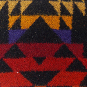 Red Pendleton Zipper Coin Purse